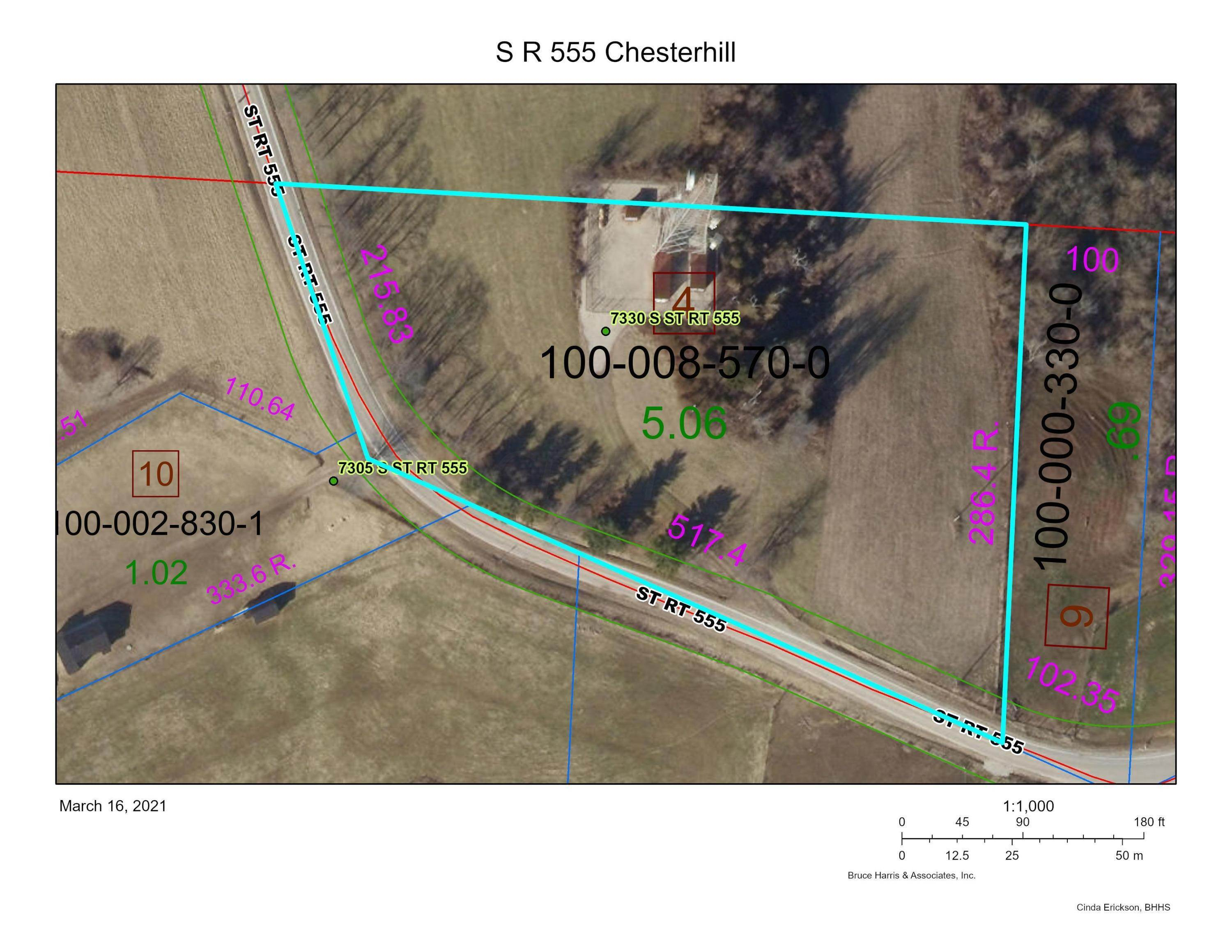 Land for Sale at State Route 555 Chesterhill, Ohio 43728 United States