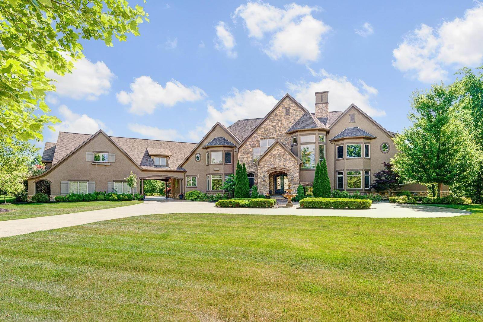 Single Family Homes for Sale at 7016 Bordeaux Dublin, Ohio 43016 United States