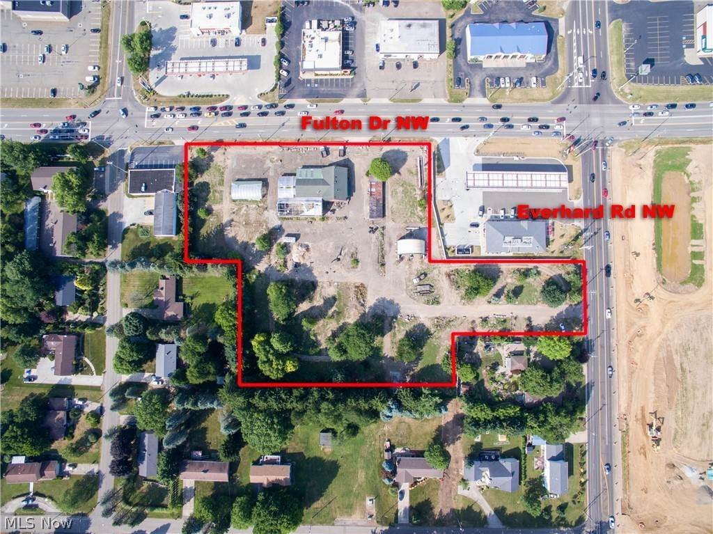 Retail for Sale at 5110 Fulton Drive NW Canton, Ohio 44718 United States
