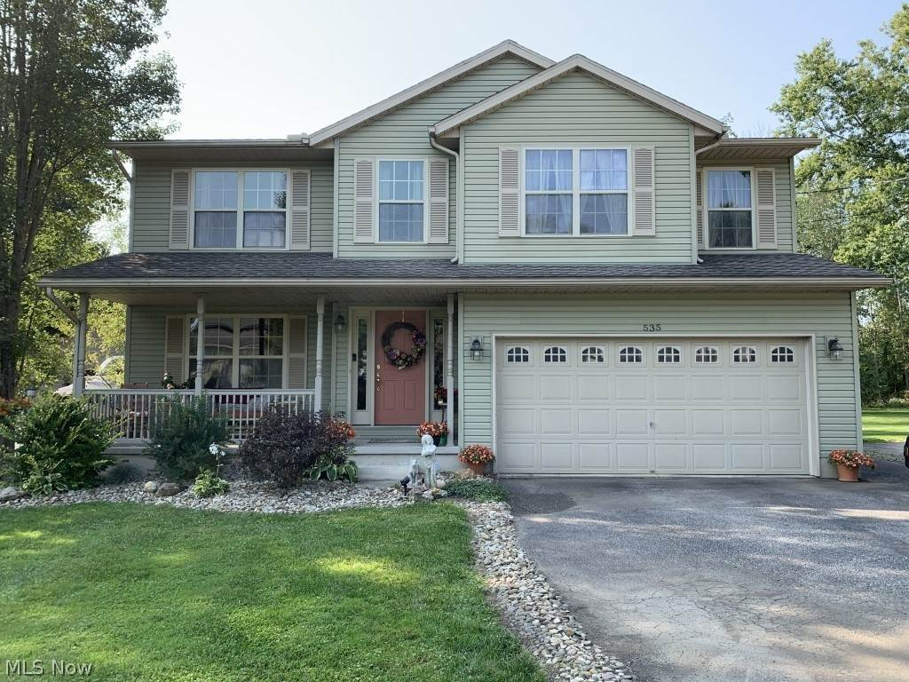 Single Family Homes for Sale at 535 Lee Lore Drive 535 Lee Lore Drive Chippewa Lake, Ohio 44215 United States