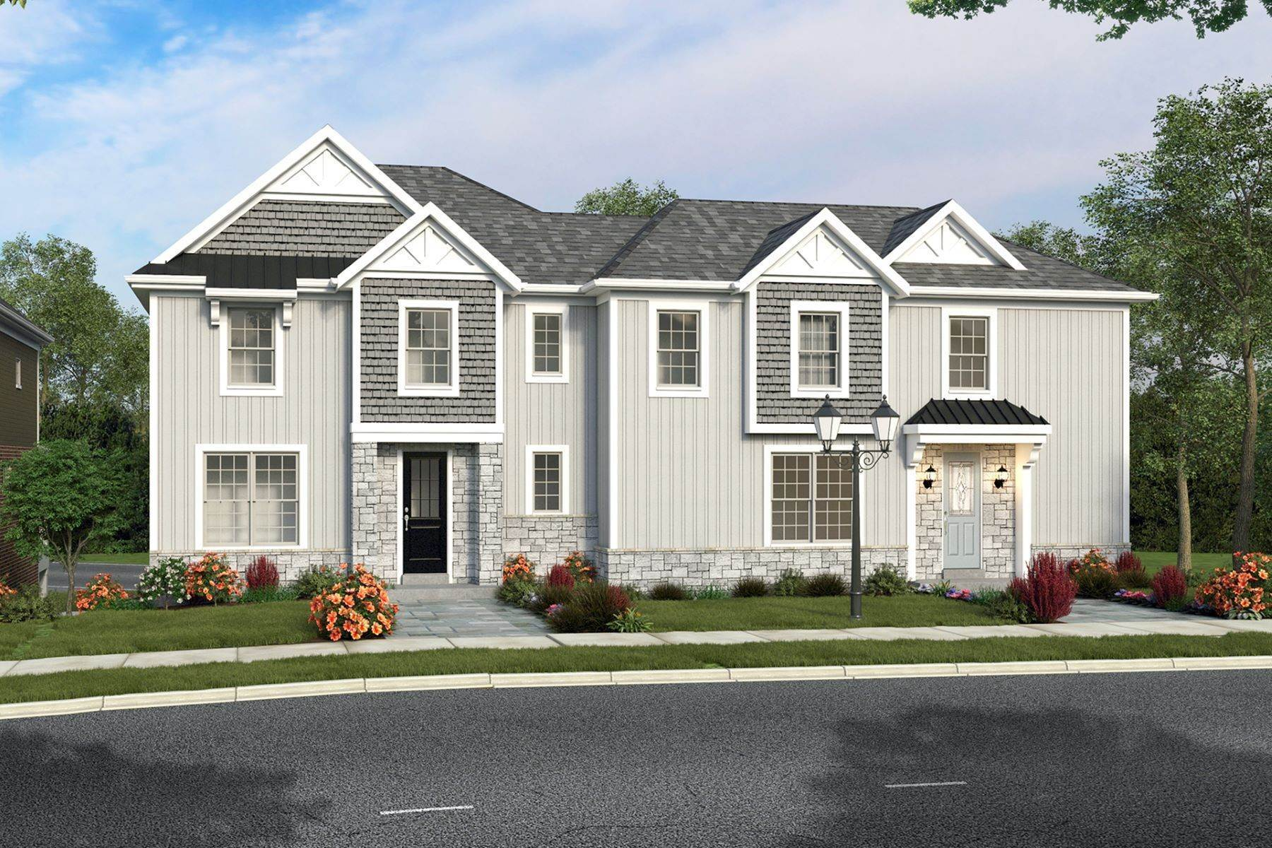 townhouses for Sale at Creekside Pointe-Blue Ash's Premiere Lifestyle Community built by Cedar Hill Cus 9320 Old Plainfield Road Blue Ash, Ohio 45236 United States