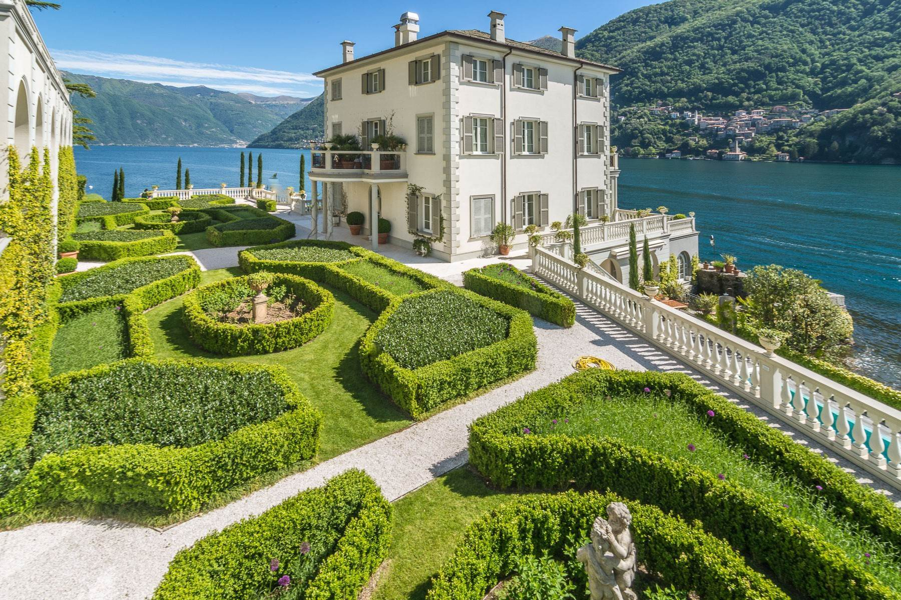 Other Residential Homes for Sale at Gorgeous lakefront trophy estate Laglio, Como Italy